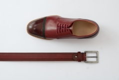 Stiched Derby Shoes by Scarpatini