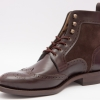 Full Brogue Wingtip Boots by Scarpatini