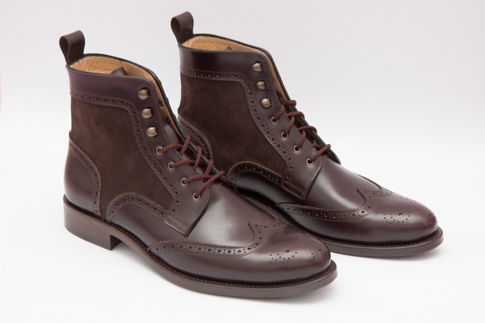 2c1e39762ca0c Wingtip Boots | Scarpatini - Handcrafted Shoes